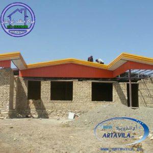 اجرای سقف شیبدار، طراحی سقف شیبدار