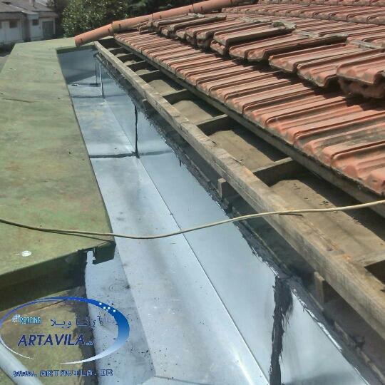 تعمیر شیروانی - تعمیر و تعویض و اصلاح سقف آردواز - آب بندی سقف و بازسازی آبرو