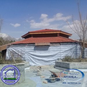 تعمیر سقف شیبدار - تعمیر آردواز - تعمیر شیروانی - تعویض سقف شیروانی
