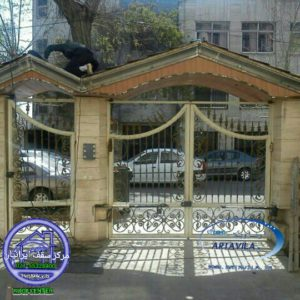 مدل حیاط خانه نودوپنج سردر ورودی – سردر حیاط – سردر آردواز | | سقف شیبدار ویلایی ...