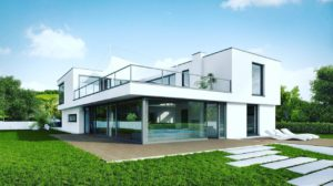 ساخت ویلا - ویلا سازی طرح ویلایی دوبلکس قابل اجرا از ۱۵۰ متر مربع مناسب برای مناطق جنگلی و ساحلی همراه با باکن بسیار بزرگ