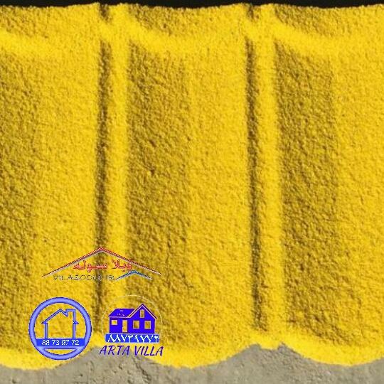 بام تایل سنگ ریزه ای   تولید تایل طرح سنگ ریزه دار با کیفیت بسیار عالی و تحویل در کمترین زمان   ، قابل رقابت با محصولات مشابه خارجی و دارای گارانتی کیفیت محصول