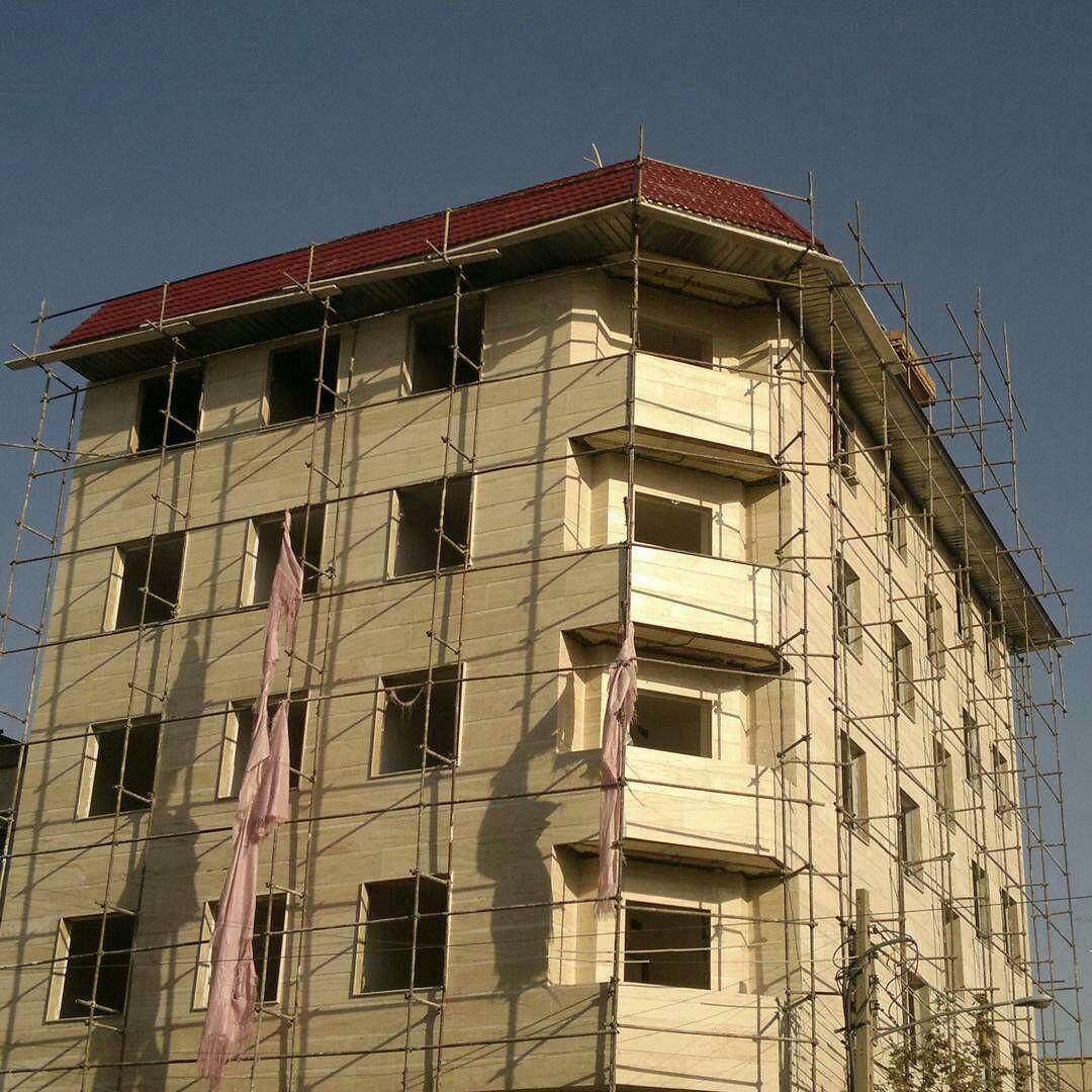 طراحی و اجرای انواع آردواز برای پیشانی ساختمان . اجرای نمای پیشانی آپارتمانها . آردواز ابرویی ساختمان