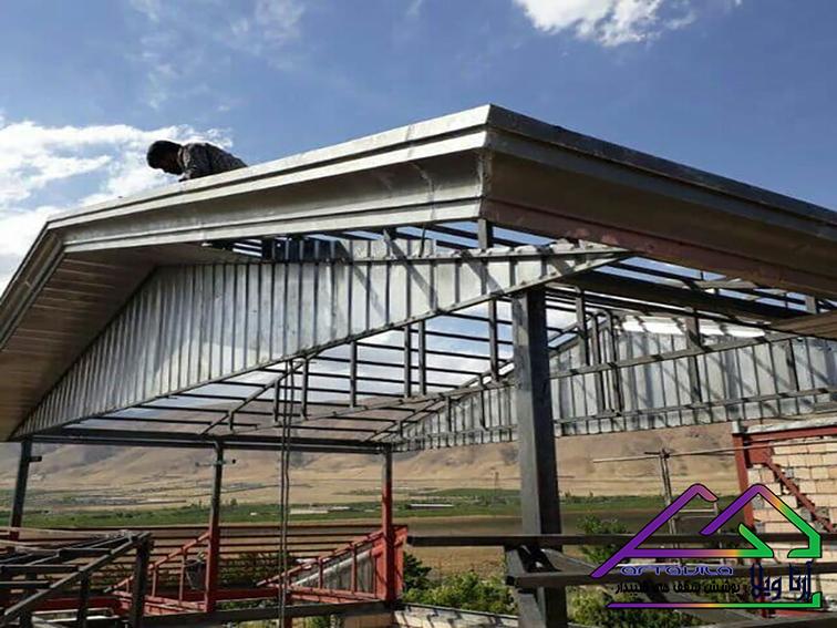 خرپا و پوشش سقف